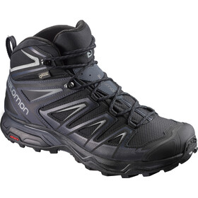 Salomon X Ultra 3 Mid GTX Kengät Miehet, black/india ink/monument